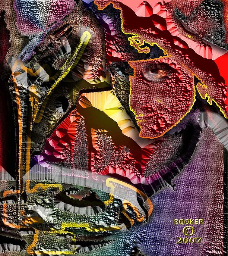 Food Mixed Media - Pouring In The New Year by Booker Williams