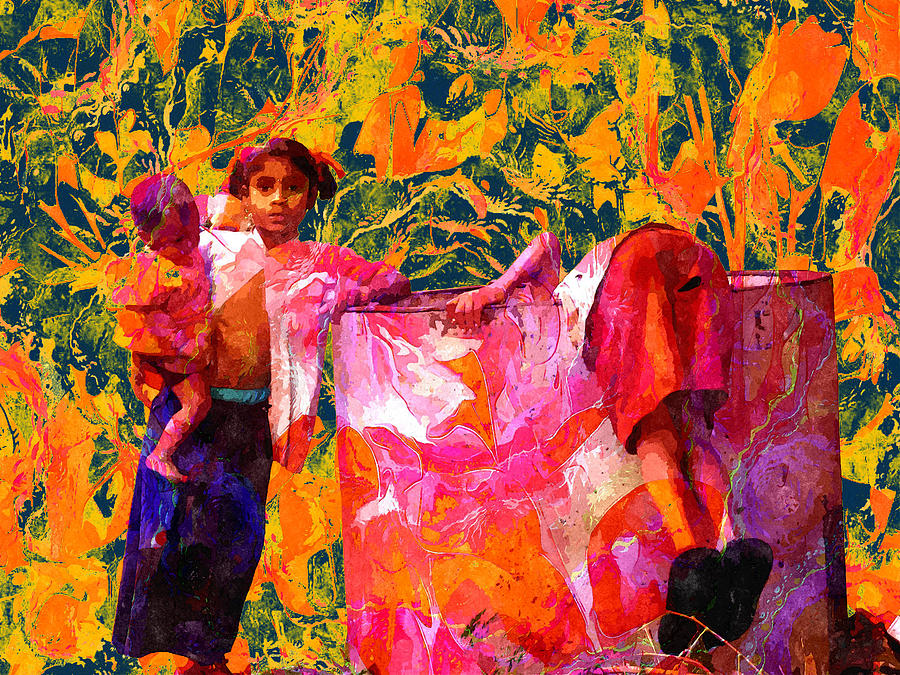 Lost Digital Art - Poverty And The Lost Childhood by Bliss Of Art