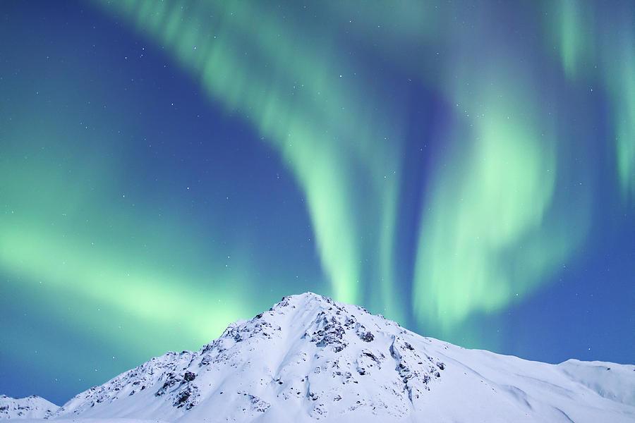 Northern Lights Photograph - Powder And Light by Patti Lynn