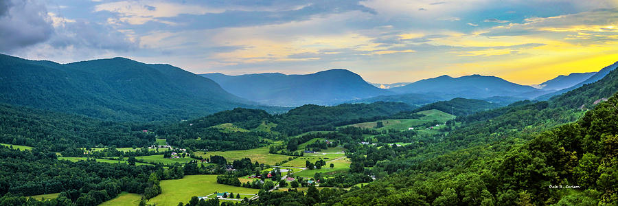 Powell Valley Sunset by Dale R Carlson