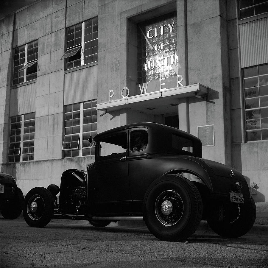Austin Photograph - Power And Light by Chad Schaefer