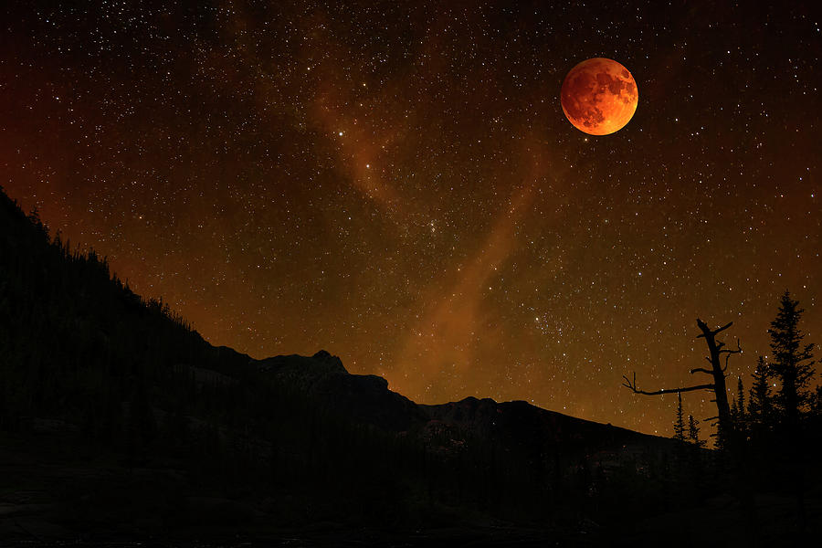 Power Blood Moon by Scott Cordell