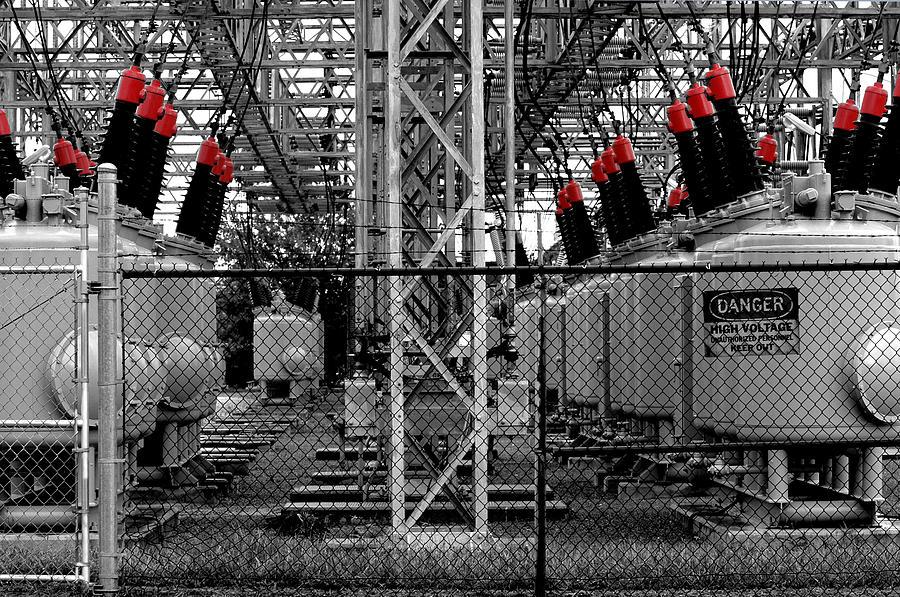 Power Station Photograph - Power Generation by William Jones