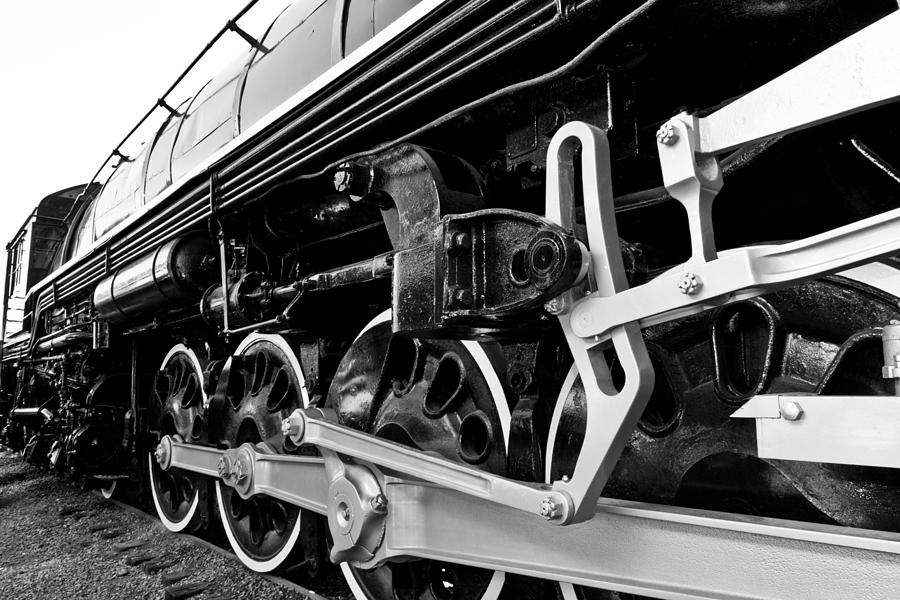 Train Photograph - Power In The Age Of Steam by Dan Dooley