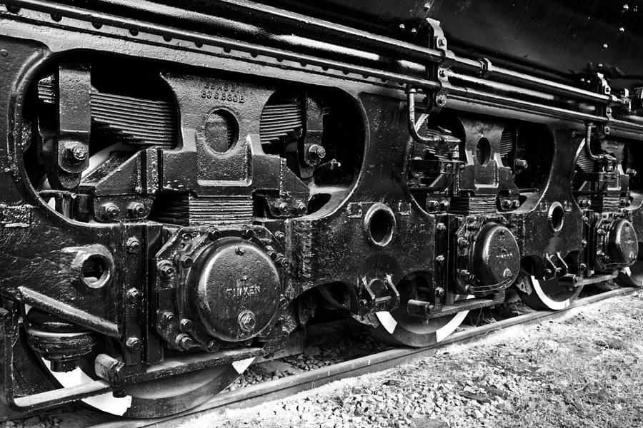 Train Photograph - Power In The Age Of Steam 6 by Dan Dooley