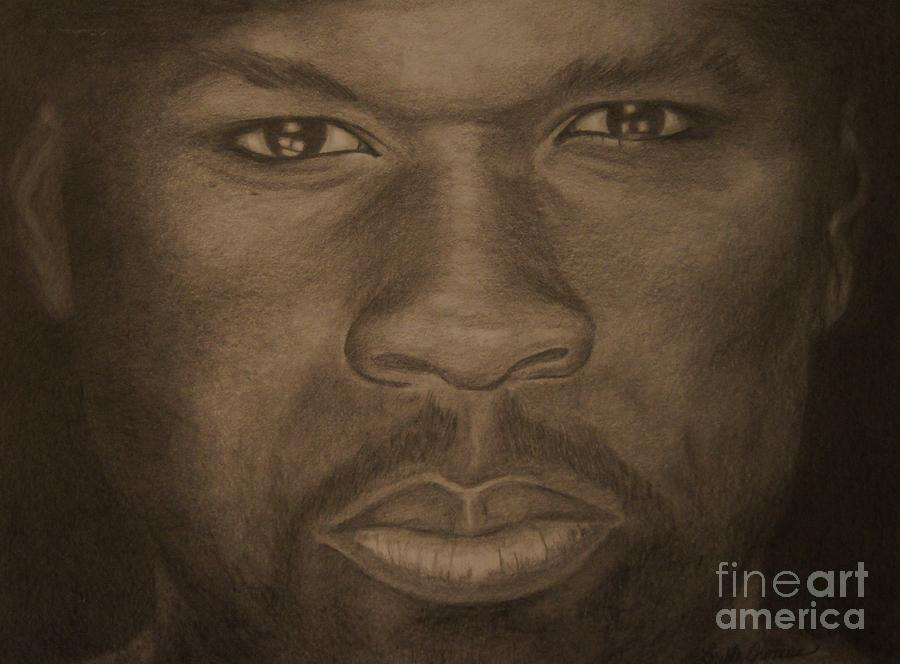Rapper Drawing - Power by Lorelle Gromus