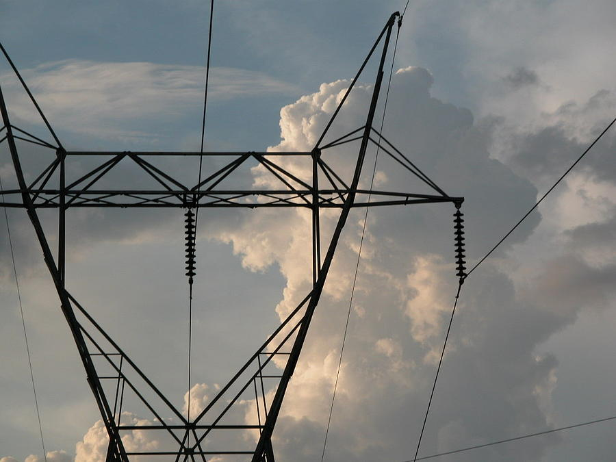 Enviroment Photograph - Power by Michael Morrison