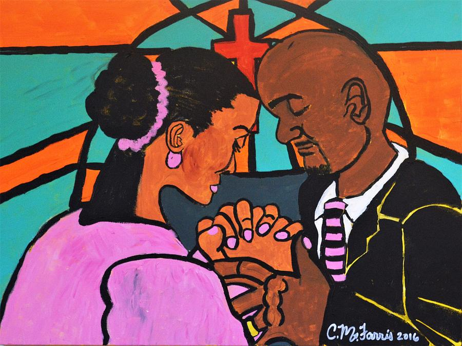 Power Of Prayer Painting by Christopher Farris
