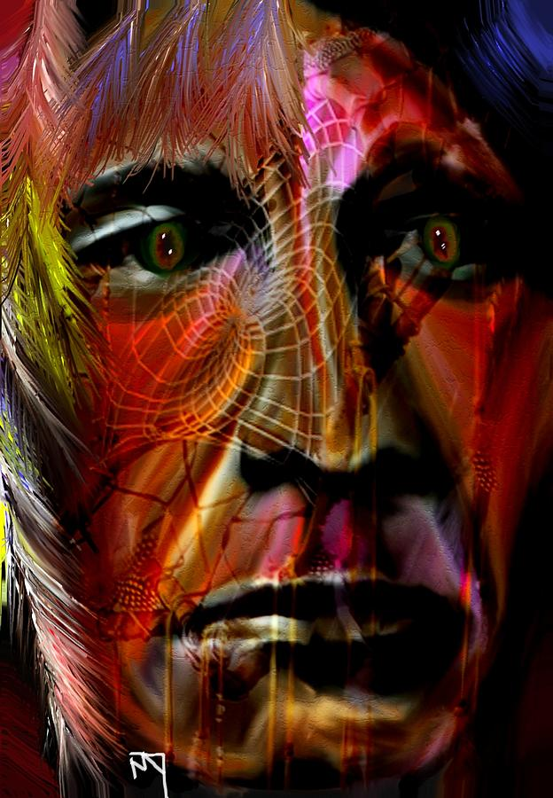 Mixed Media Digital Art - Power Of The Spirits by Michelle Dick