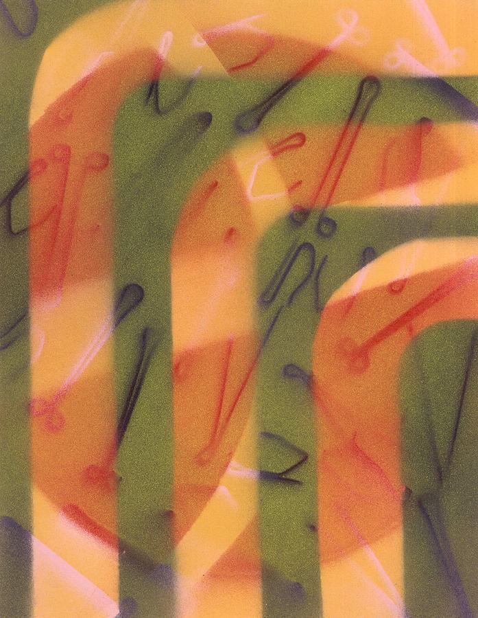 David Jacobi Painting - Powerfully Harmless by David Jacobi