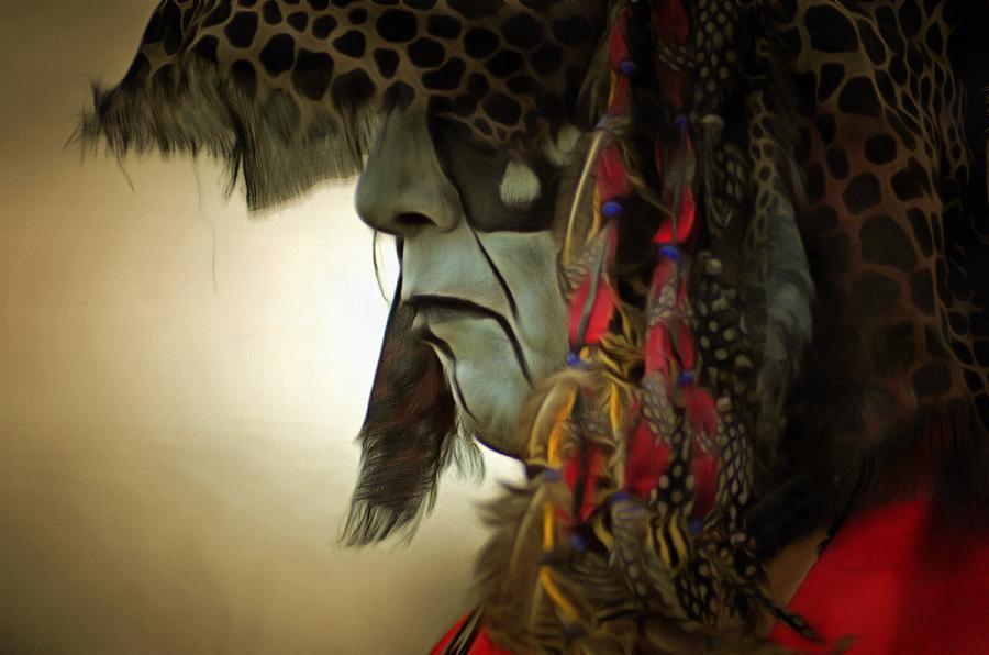 Native American Photograph - Powwow 38 by Cindy Nunn