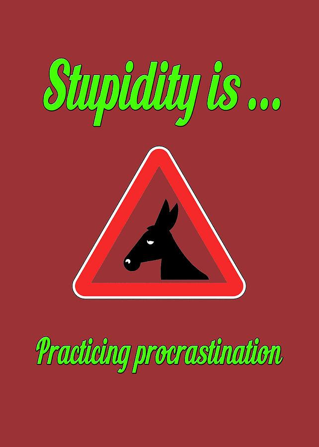 Funny Digital Art - Practicing Bigstock Donkey 171252860 by Mitchell Watrous