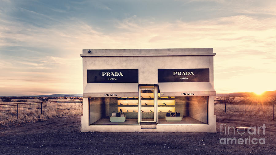 Texas Photograph - Prada Store by Prada