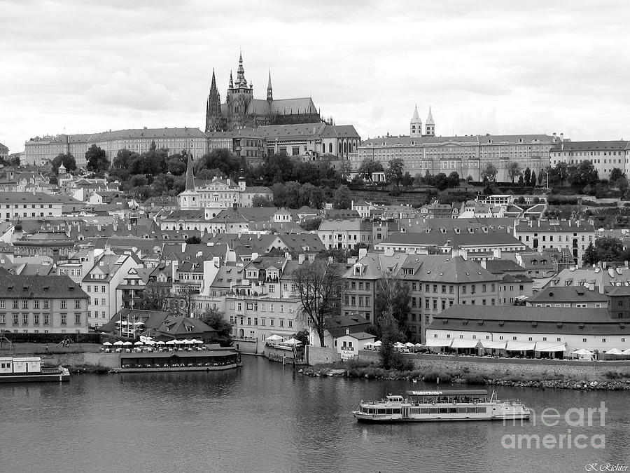 Landscape Photograph - Prague Castle by Keiko Richter