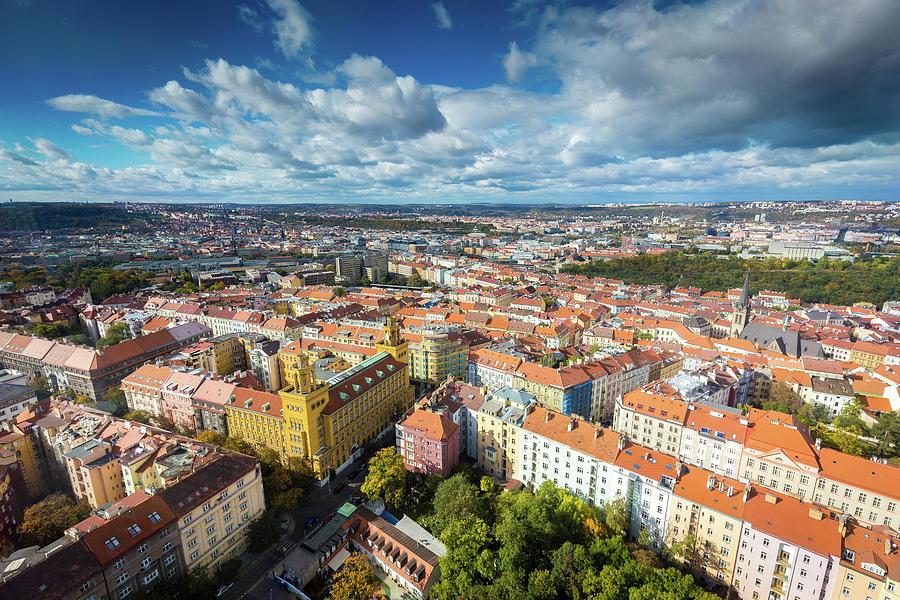 Prague from Above by Robert Davis