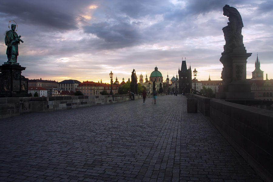 Prague Morning by Jed Holtzman