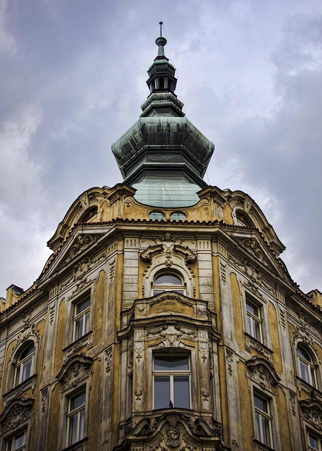 Prague Photograph - Prague Spire by Heather Applegate