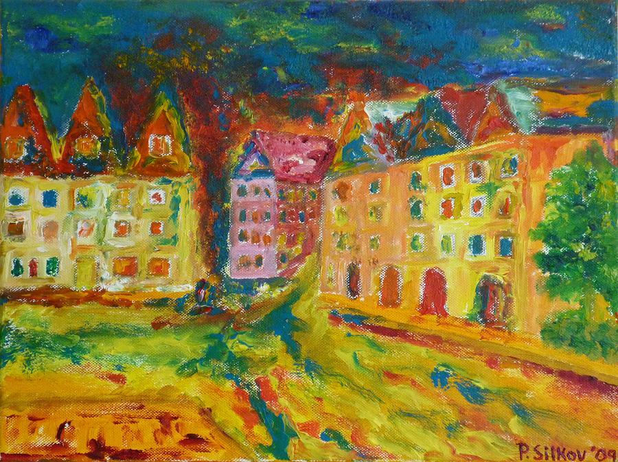 Prague Street by Peter Silkov
