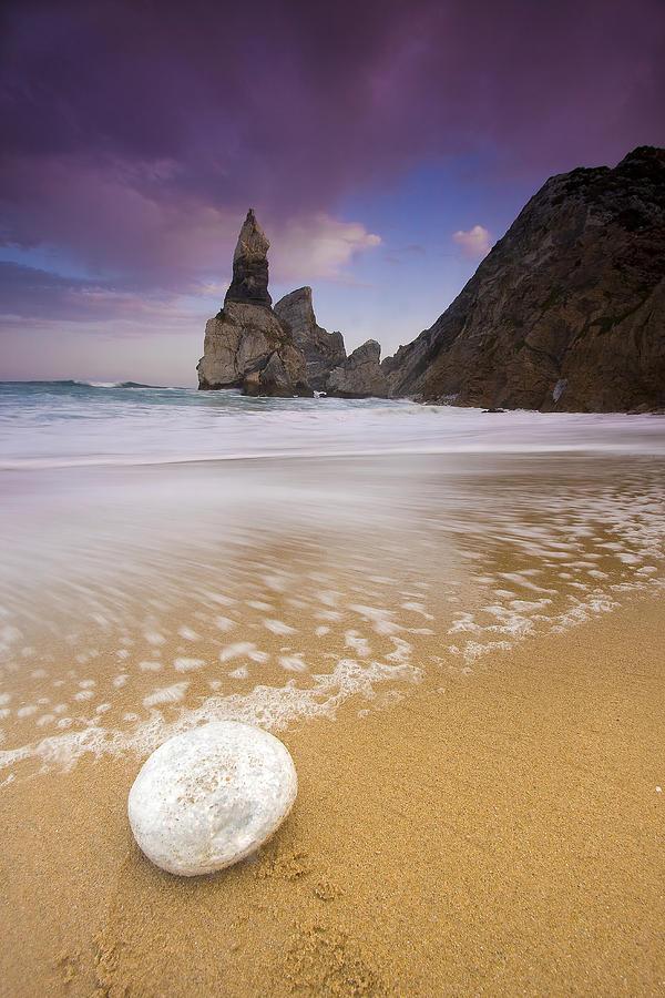 Sunset Photograph - Praia Da Ursa by Andre Goncalves