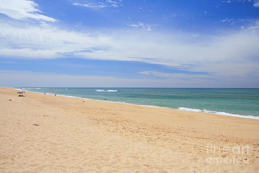 Praia De Faro Photograph - Praia De Faro by Carl Whitfield