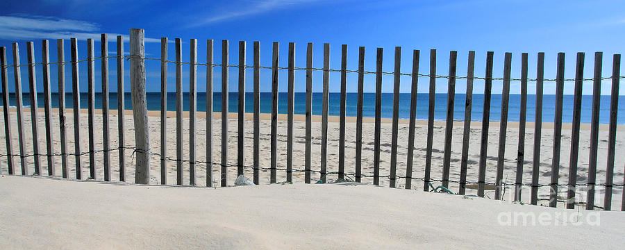Panoramic Photograph - Praia Do Cabeco - Panoramic by Carl Whitfield