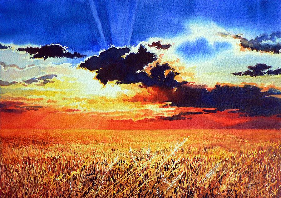 Prairie Gold Painting