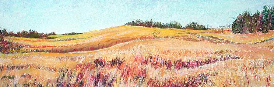 Landscape Painting - Prairie IIi by Lucinda  Hansen