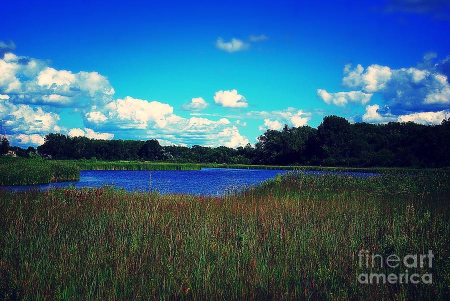 Prairie Lake Photograph
