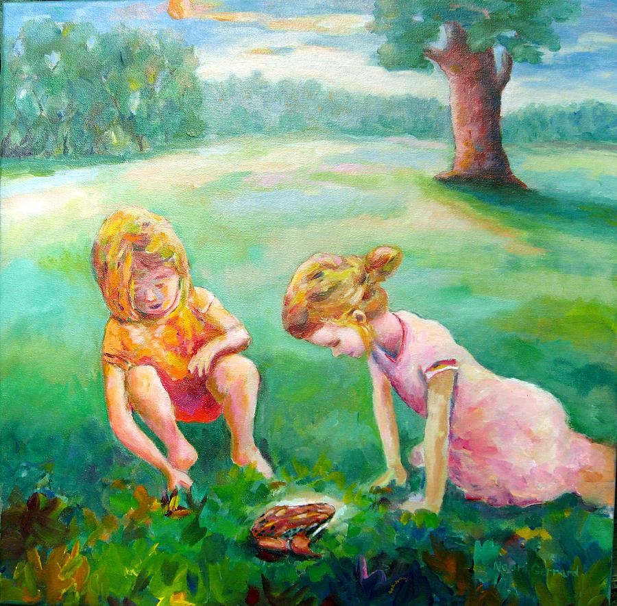 Kids Painting - Prairie Prince by Naomi Gerrard