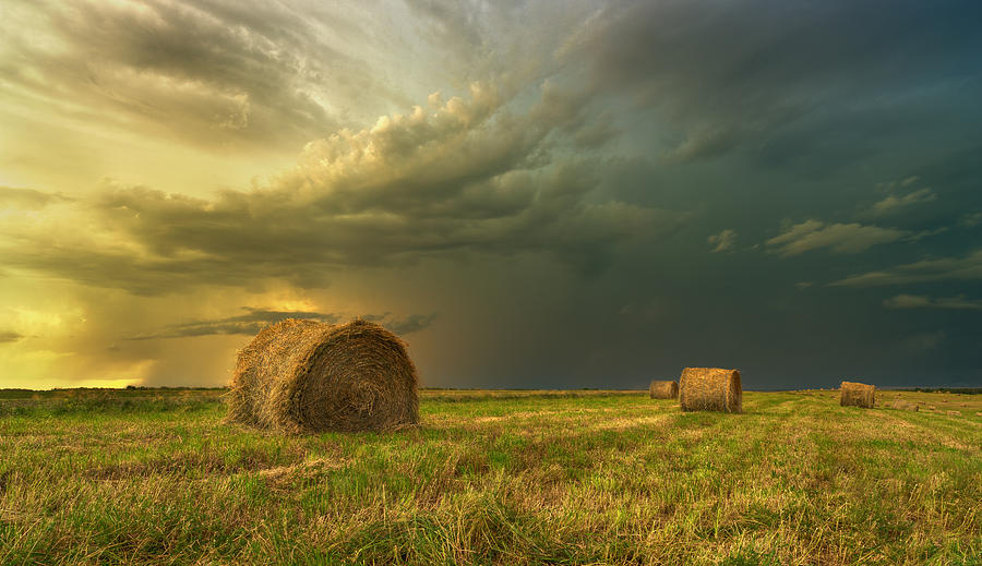 Prairie Photograph - Prairie Storms by Stuart Deacon