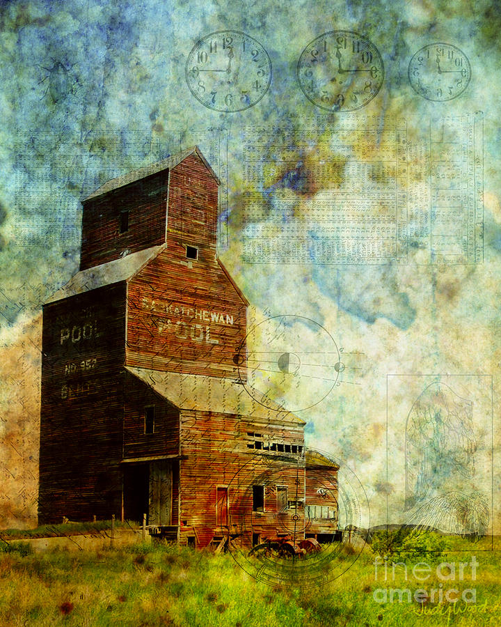 Prairie Times by Judy Wood