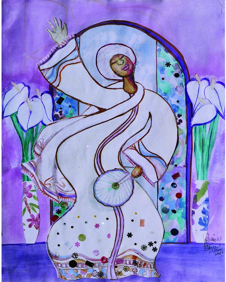 Praise Dancer Painting - Praise by Joyce Miles