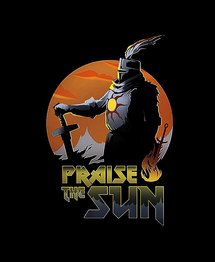 Praise Digital Art - Praise The Sun by Ervina Indarvati