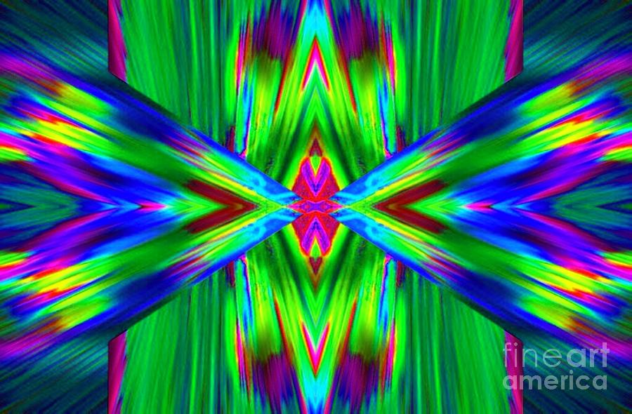 Abstract Digital Art - Prarie by Lorles Lifestyles