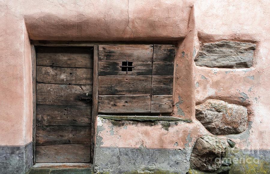 Door Photograph - Prato Sornico by DiFigiano Photography
