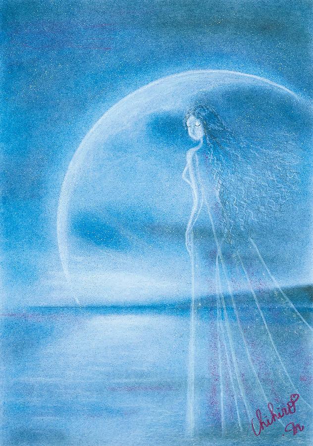 Japanese Painting - Prayer by Chihiro Matsui