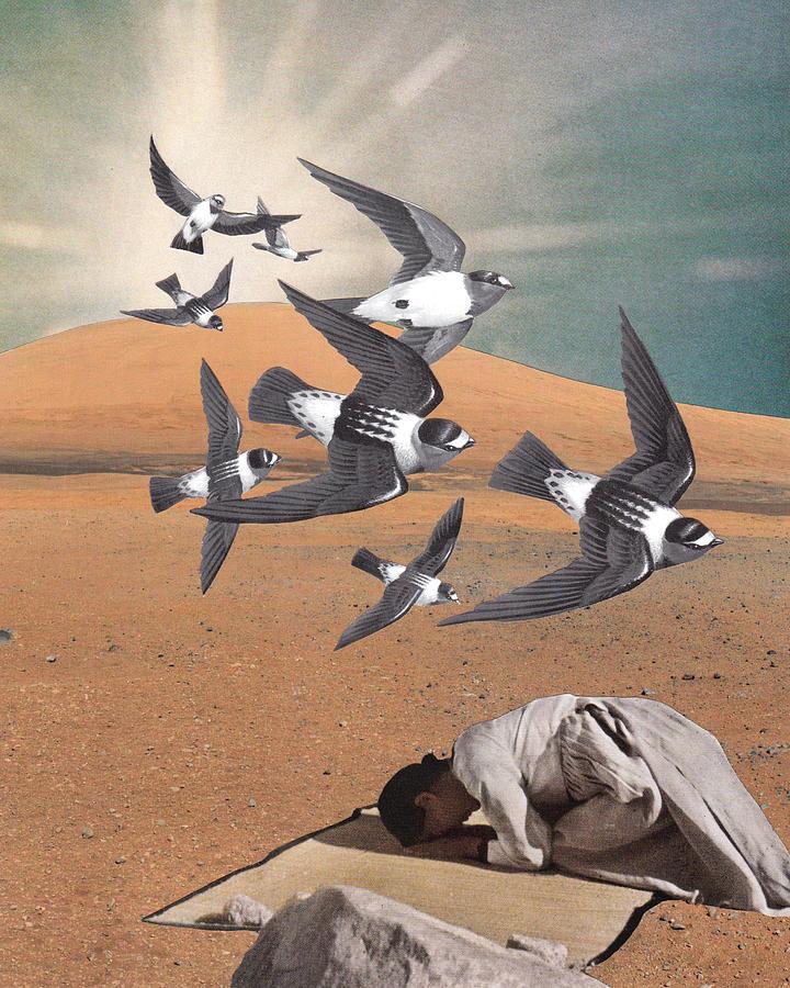 Prayer Mixed Media - Prayer Flight by Starcrow Astrology