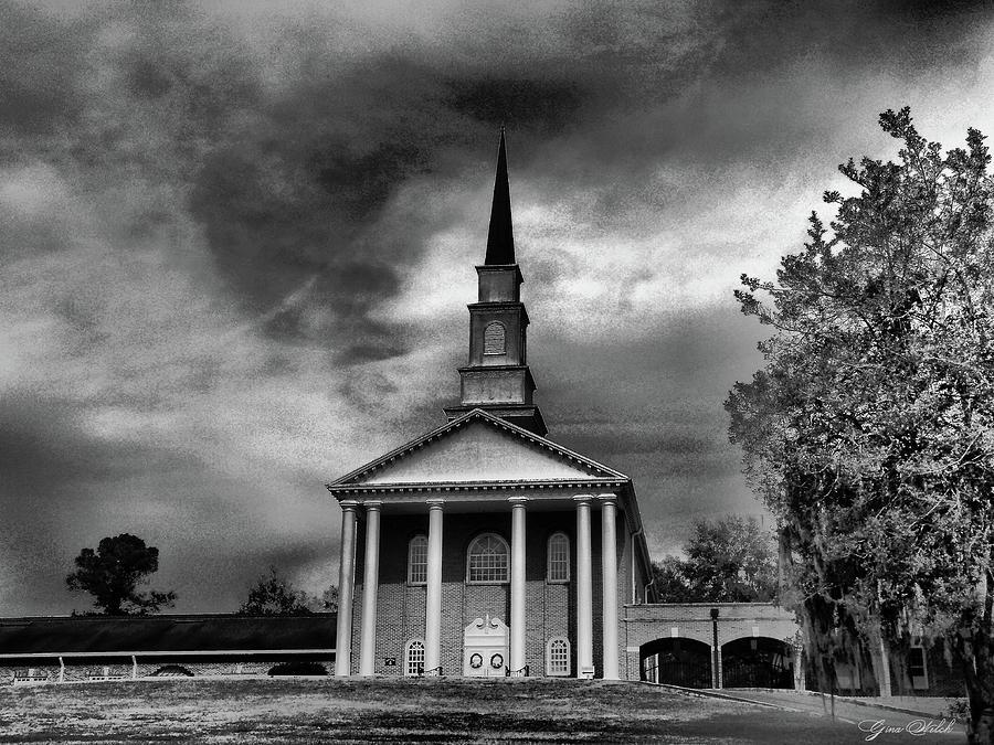Church Photograph - Prayer by Gina Welch