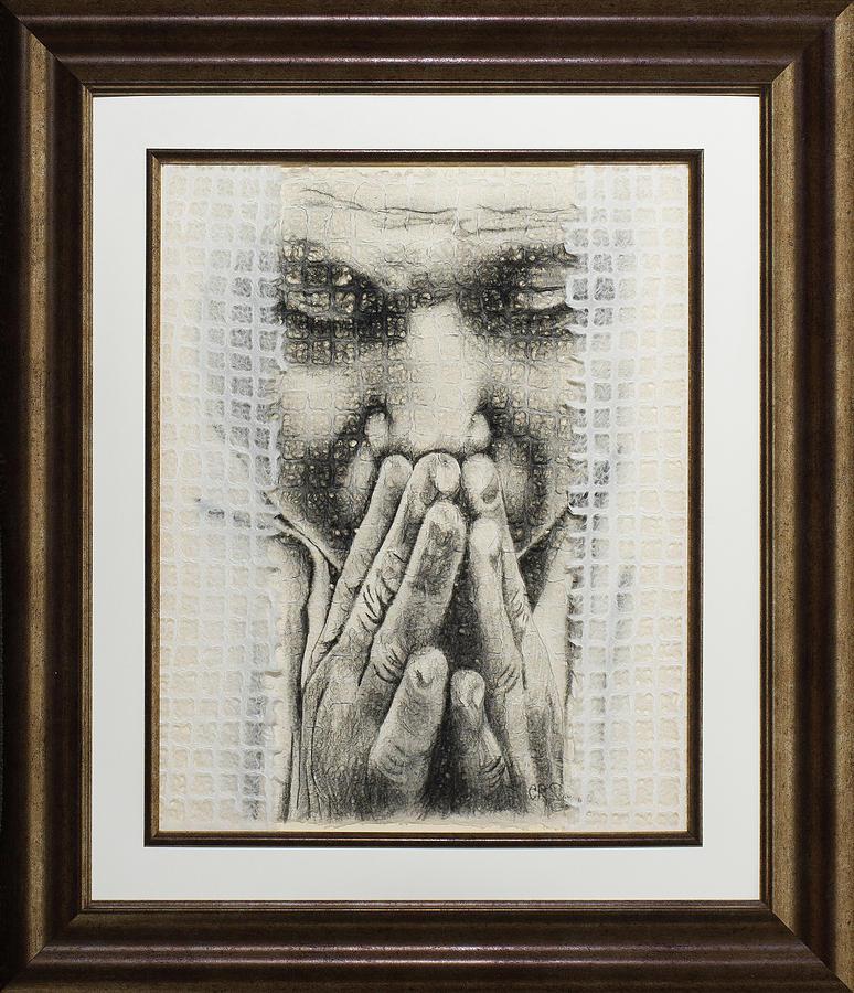 Prayer II Big Brother Drawing by Carmen R Sonnes