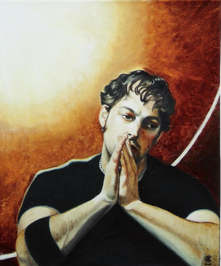Prayer Painting - Prayer Illumination by Teresa Carter