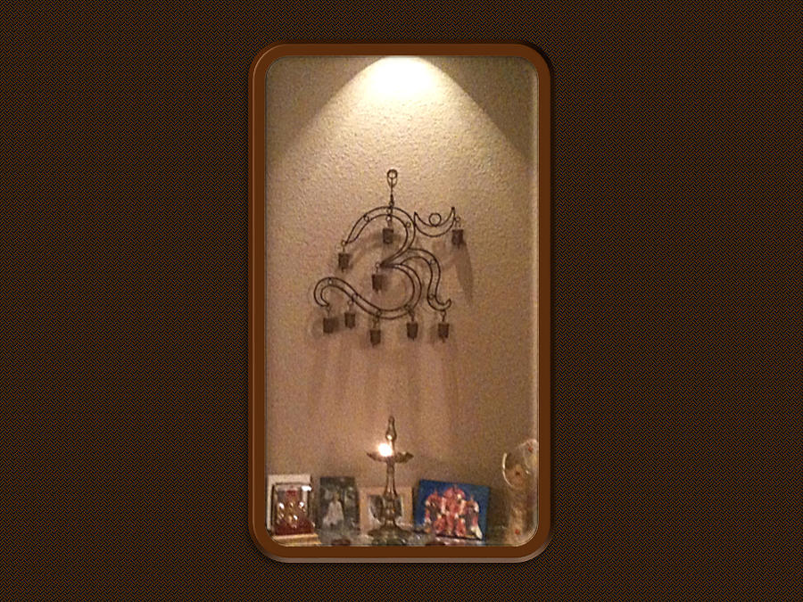 Prayer Mantle With Om by Ravi Kallianpur