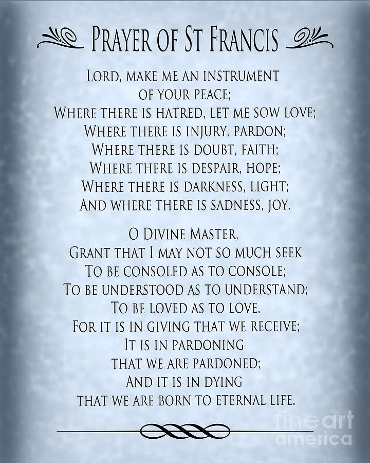 prayer of st francis pope francis prayer blue grey clipart prayer lds clip art prayer hands