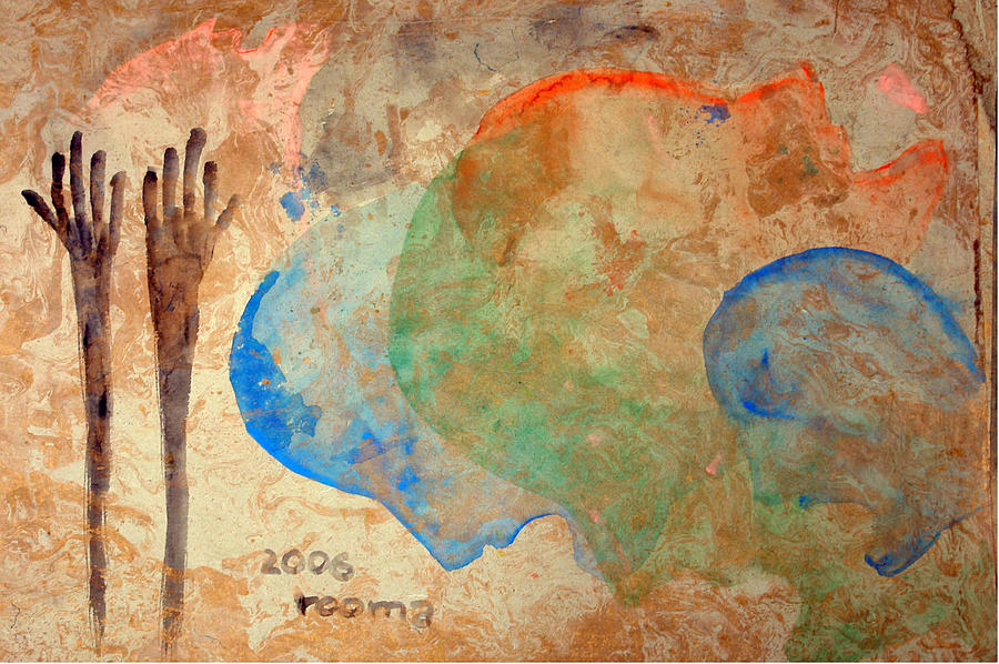 Painting Painting - Prayer by Rooma Mehra