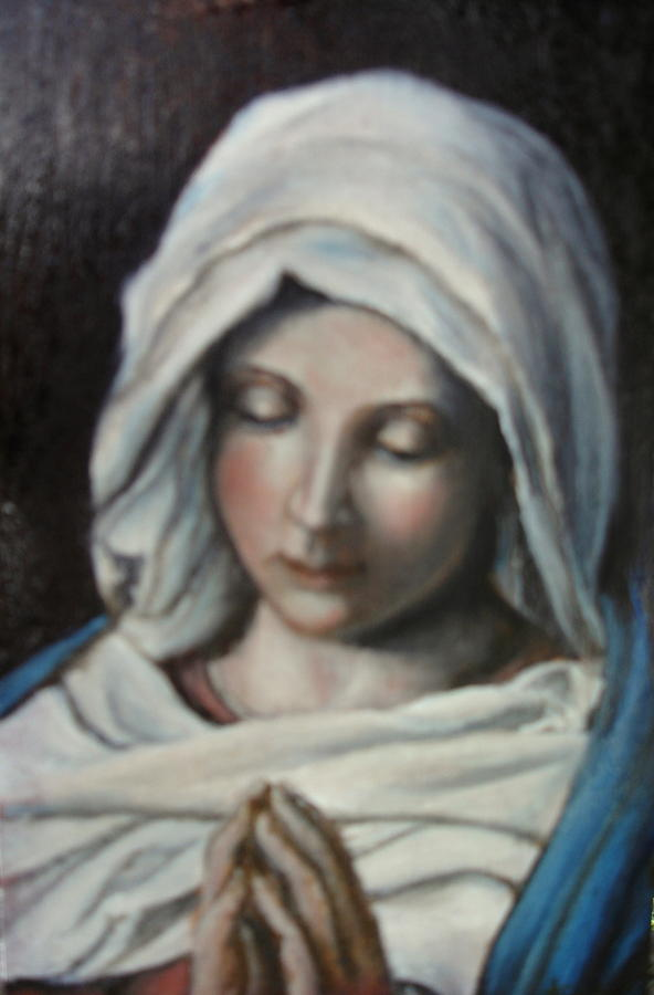 Prayer Painting - Prayer by Sorin Apostolescu