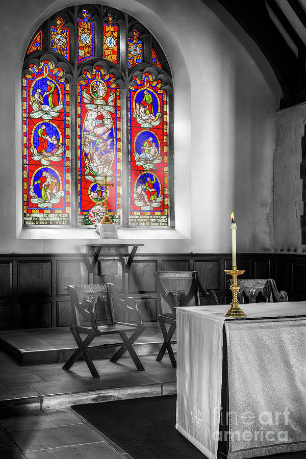 Chapel Photograph - Prayers And Hope by Adrian Evans