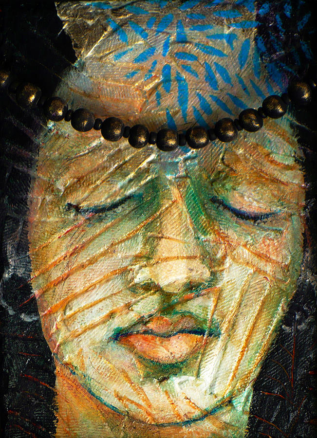 Mixed Media Mixed Media - Prayers For The Ancestors by Sue Reed