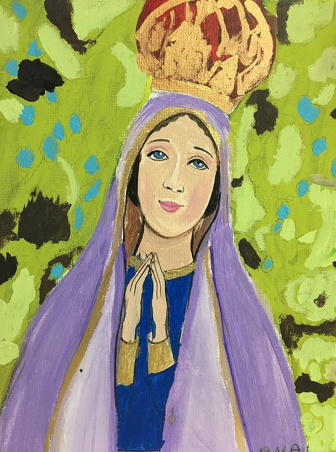 Prayer Painting - Prayers Of Love by Ana L