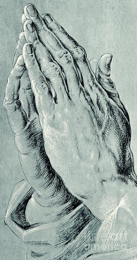 20ecf75bd392 Hands Drawing - Praying Hands