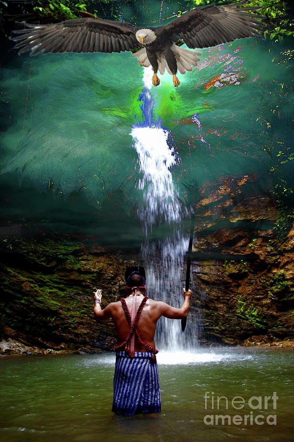 Amazon Photograph - Praying To The Spirits by Al Bourassa