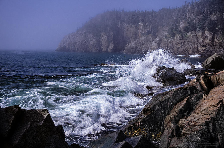 Quoddy Photograph - Pre Irene Surge by Marty Saccone